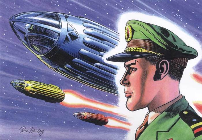 Spaceship Away - Issue 53 - Dan Dare by Don Harley