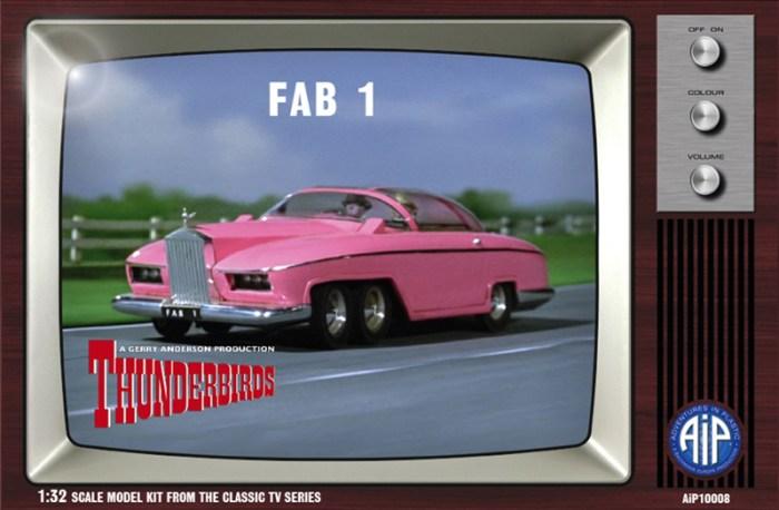 Bachmann Europe - Thunderbirds - FAB 1  - Box