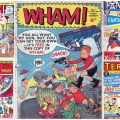 "Odhams Press ""Power Comics"" - Wham!, Smash! pow!, Fantastic and Terrific"