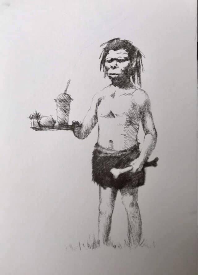Banksy Postcard Print