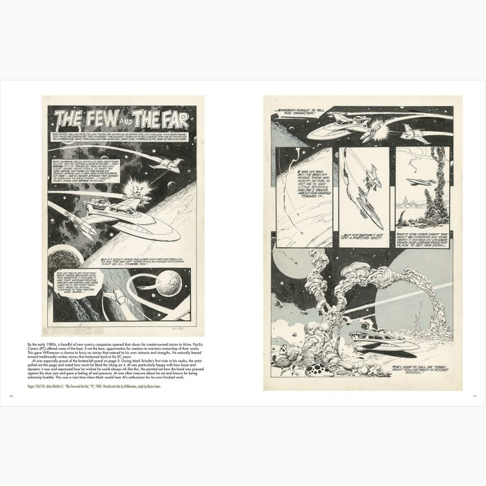 Al Williamson - Strange World Adventure (Flesk 2021) - Sample Pages