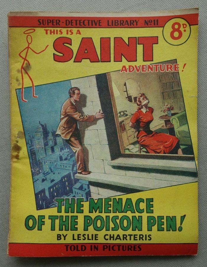Super Detective Library No. 11 featuring The Saint (1950s)