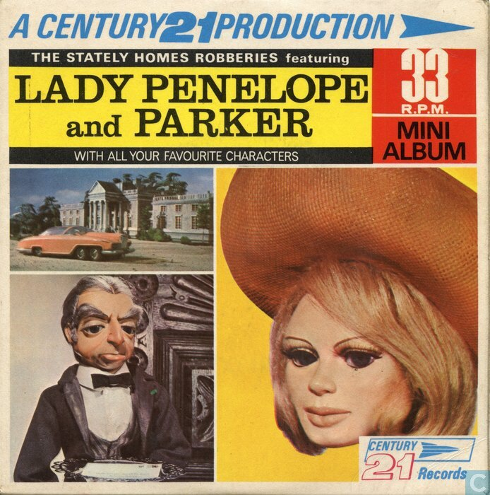 Century 21 Records - Thunderbirds - The Stately Homes Robberies
