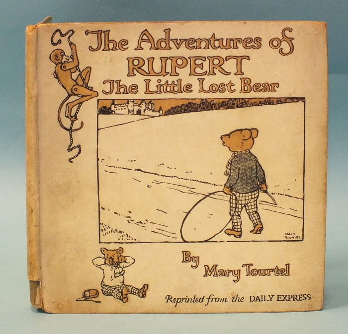 The Adventures of Rupert, The Little Lost Bear by his creator Mary Tourtel