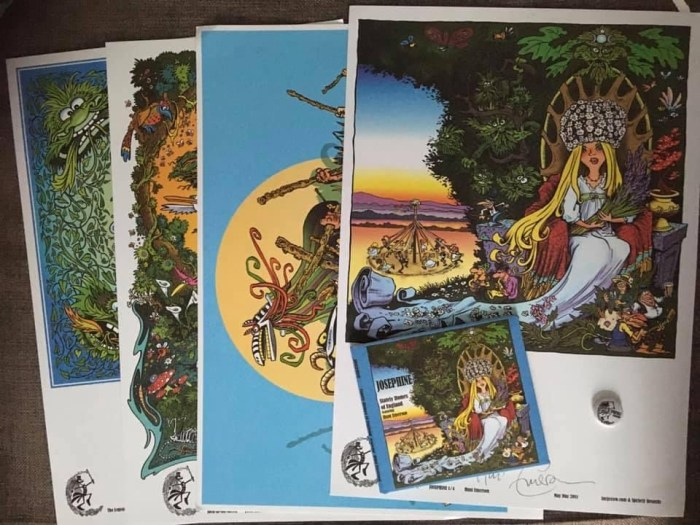 Art prints donated by Hunt Emerson
