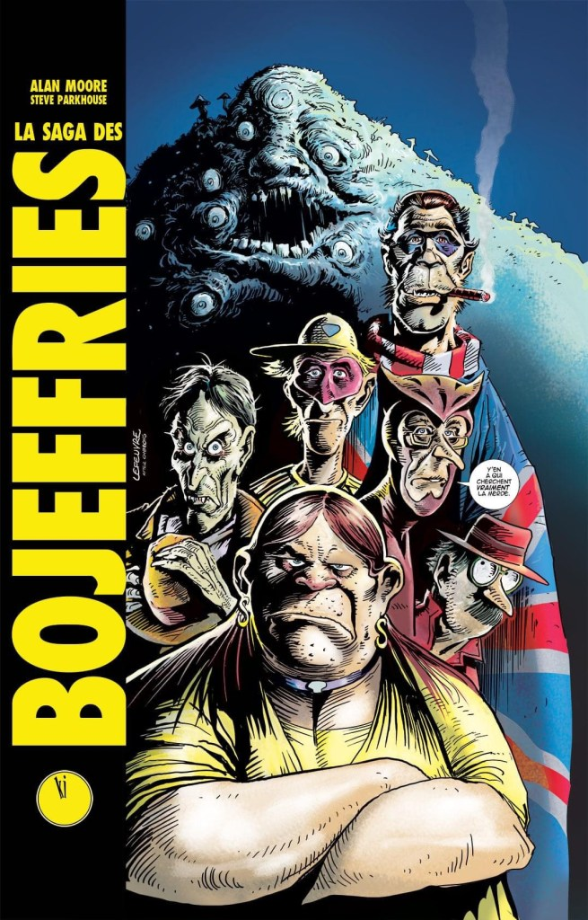 The Bojeffries Saga - Variant French Collection Cover by Lefeuvre Laurent