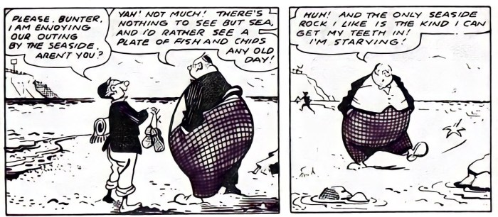 Billy Bunter, as drawn by Eric Roberts