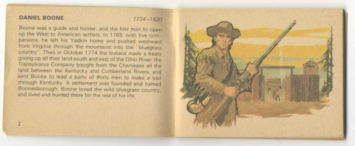 Art and text from Bancroft Tiddlers 19 - Heroes of the Wild West. Art by TV21 and Countdown artist Jon Davis