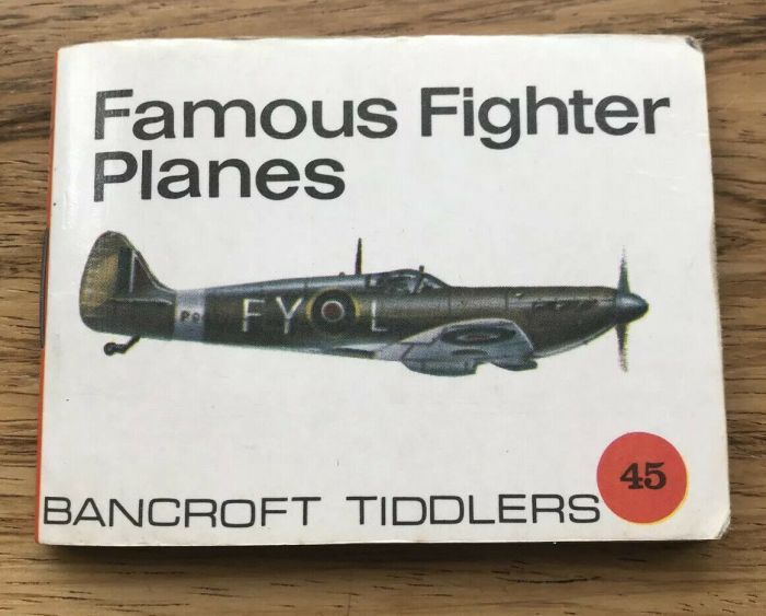 Bancroft Tiddlers 45 Famous Fighter Planes