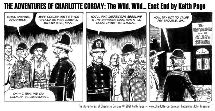 The Wild, Wild... East End! by Keith Page