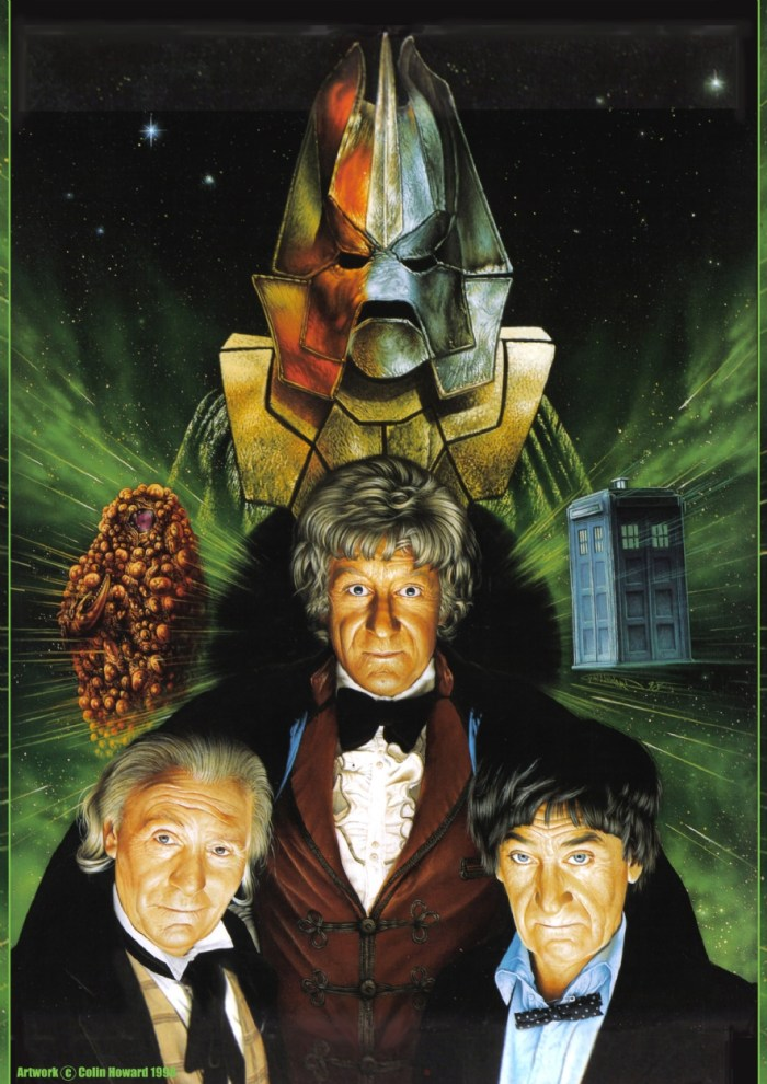 Doctor Who - The Three Doctors  by Colin Howard