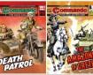 Commando issues 5435 - 5438