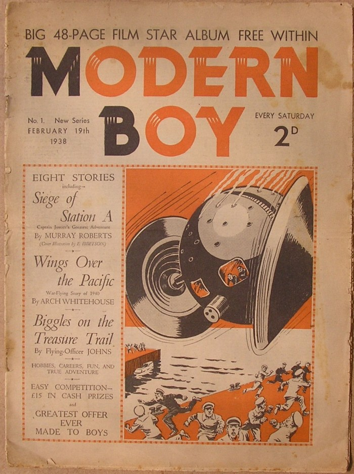 The Modern Boy No. 1 (Volume Two, cover dated 19th February 1938