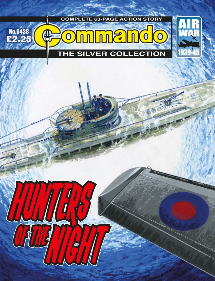 Commando 5438 Silver Collection: Hunters of the Night