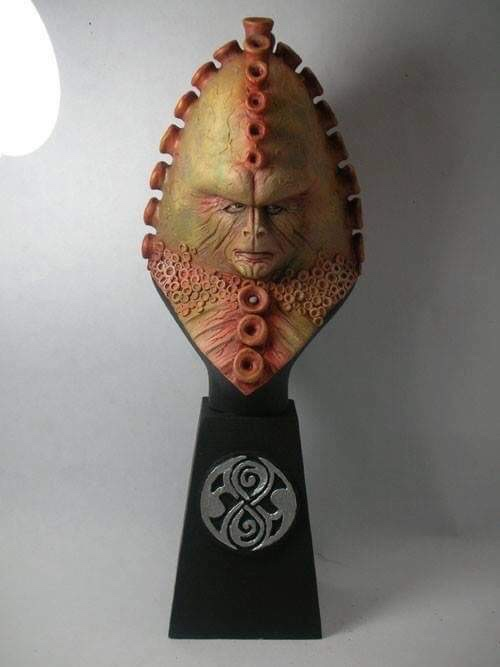 """Doctor Who sculpts by Neil """"Blackbird"""" Sims - Zygon"""