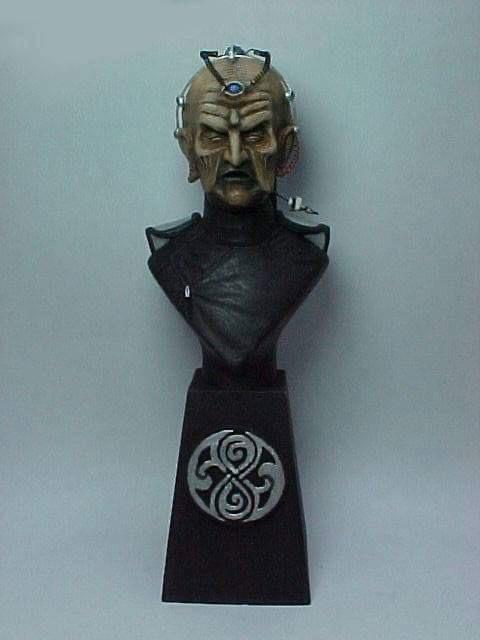 """Doctor Who sculpts by Neil """"Blackbird"""" Sims - Davros"""