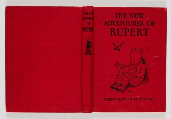 The New Adventures of Rupert (1936) - First Rupert book
