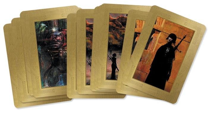 Encore Gold by Liam Sharp - Mock-up of the Lib LaRoche card set