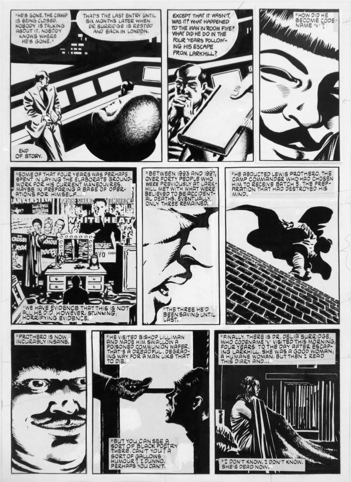 Art from V for Vendetta by David Lloyd