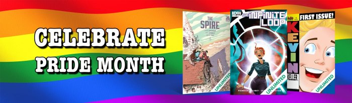ComiXology Pride Month 2021 Promotion