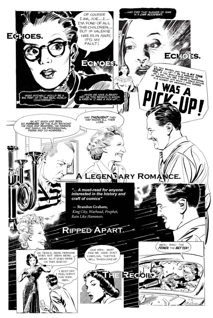The Strange Death of Alex Raymond - Preview Page