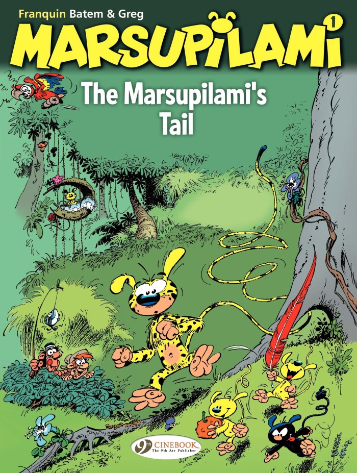The Marsupilami's Tail, published by Cinebooks