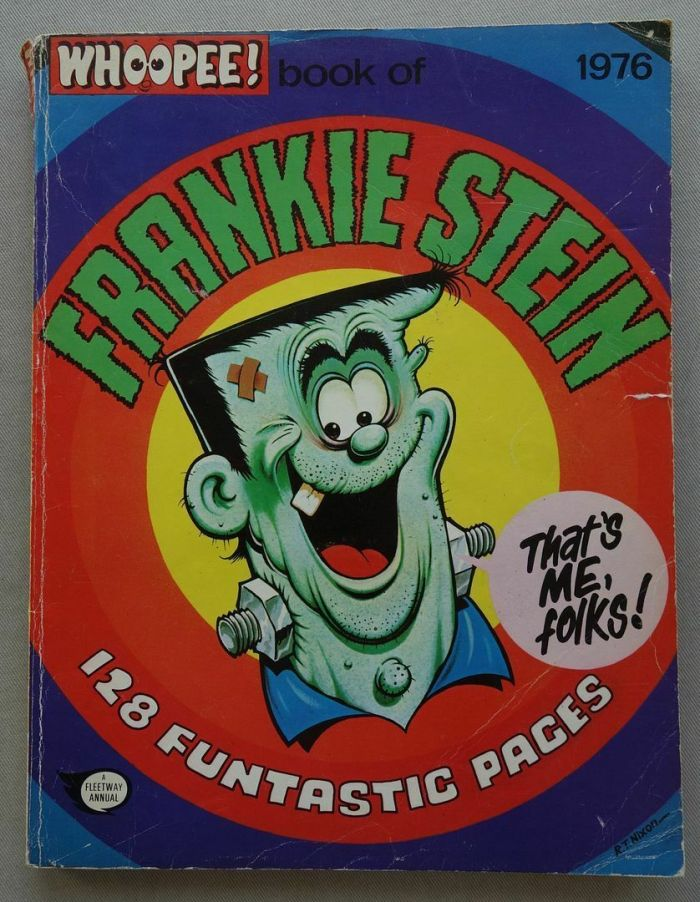 Whoopee Book of Frankie Stein 1976