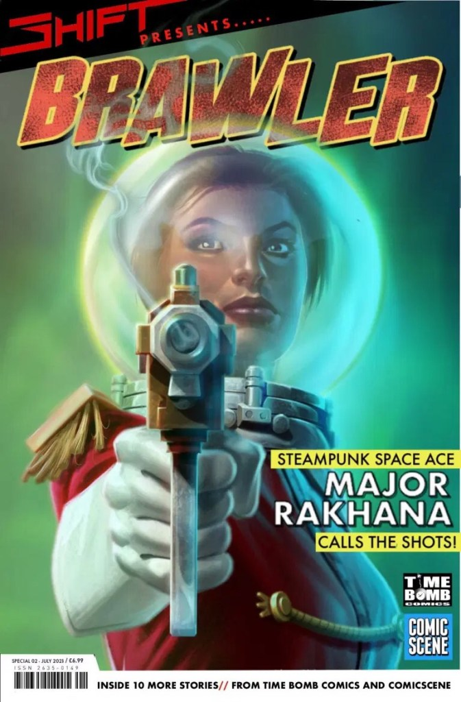 SHIFT Presents… Brawler. Cover art by Mark Montague