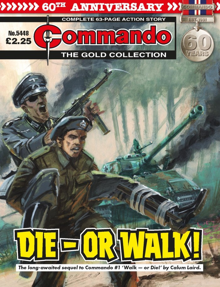 Commando 5448 - Gold Collection: Die — or Walk!