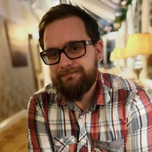 Aaron Rackley, founder of Buy Small Press