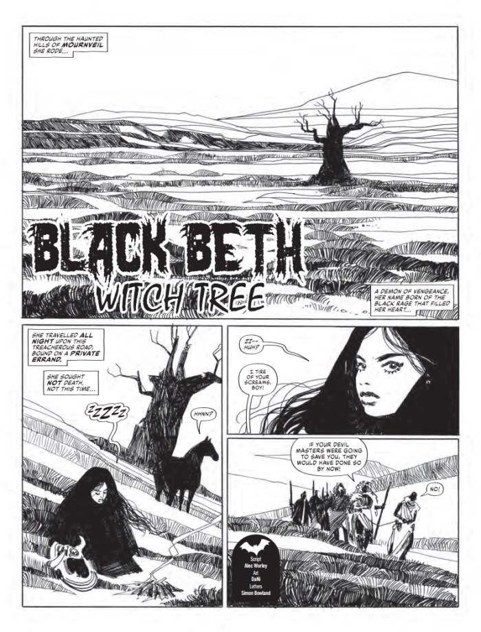"""""""The Witch Tree', a Black Beth story by Alec Worley and Dani for the 2020 Scream & Misty Special"""