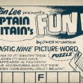 "Captain Britain #7 ""Fun Page"" SNIP"