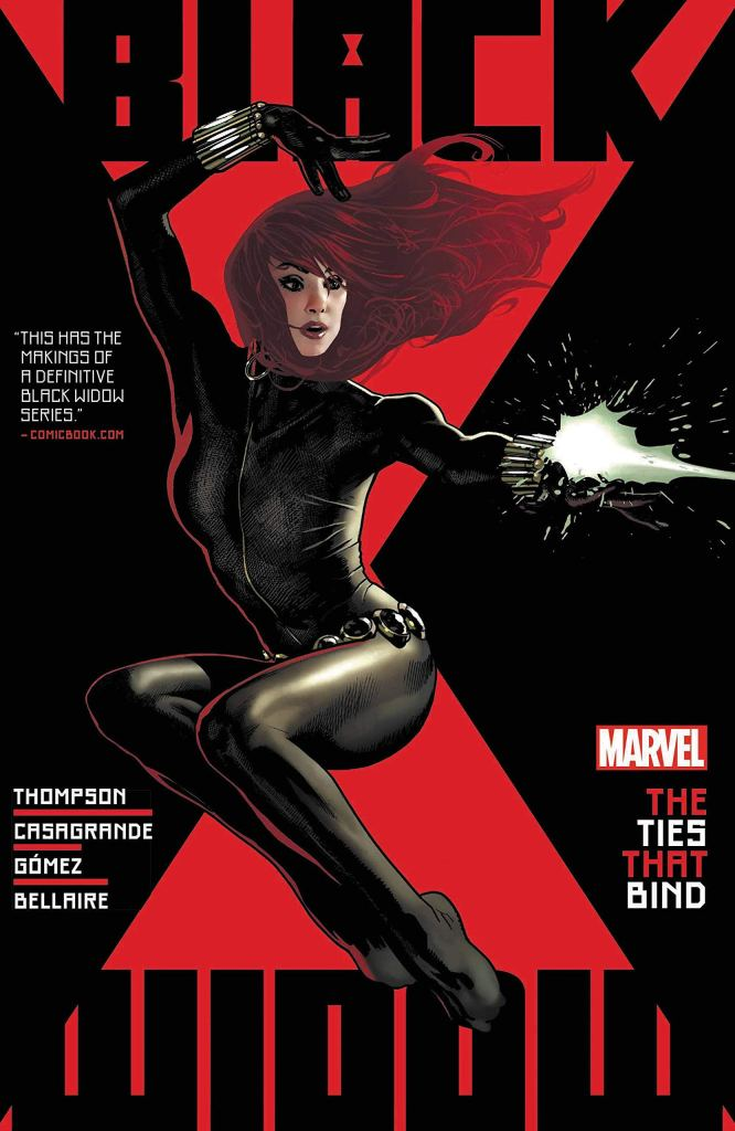 Black Widow by Kelly Thompson Volume One: The Ties That Bind