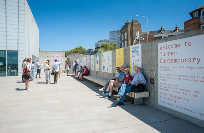 The Great British Fish and Chips - Turner Contemporary 2021 - Margate