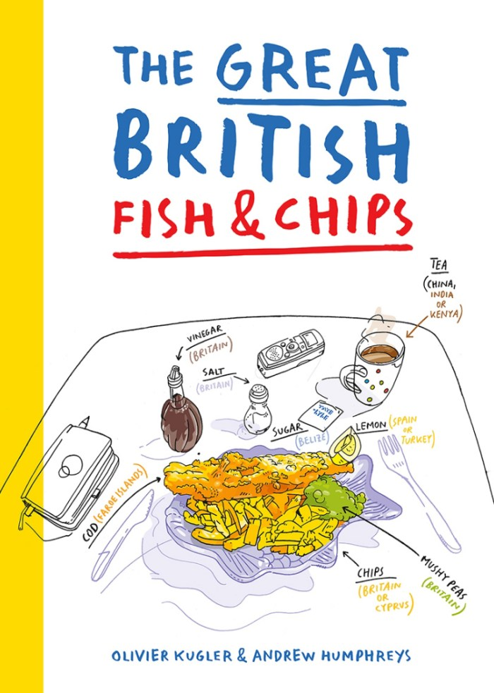 The Great British Fish and Chips - Art by Olivier Kugler