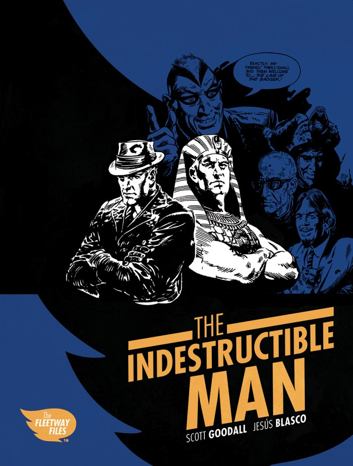 The Indestructible Man - Cover