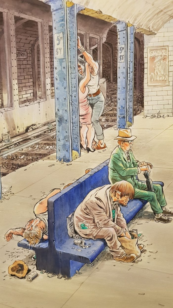 Will Eisner - The Late Train - Detail