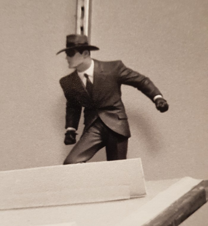 Musee Thomas Henry - The Spirit of Will Eisner Exhibition - Statue