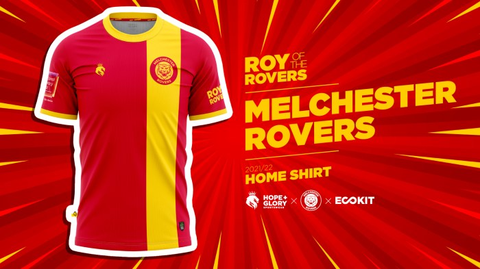 Melchester Rovers - Roy of the Rovers Home Shirt 2021