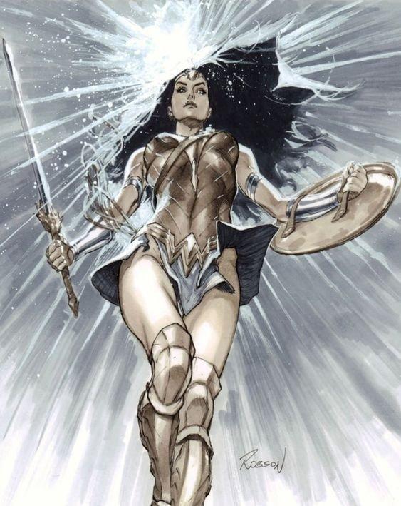 Wonder Woman by Robson Rocha