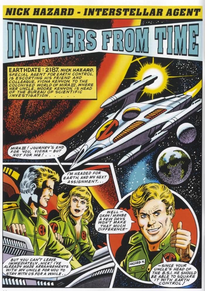 Spaceship Away - Issue 54 - Nick Hazard by Philip Harbottle and Ron Turner