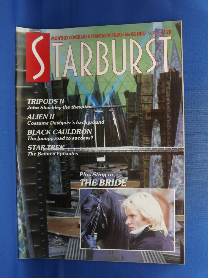 Starburst Issue 88, Visual Imagination's first edition of the long-running title