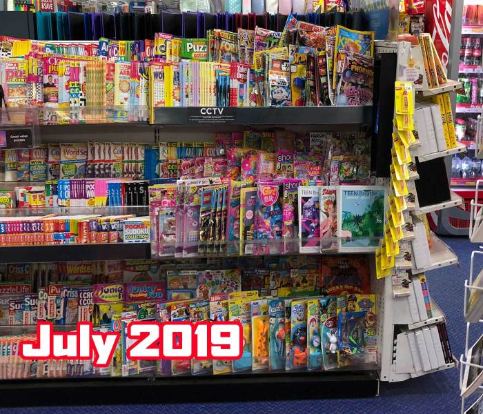 WHSmith Lancaster Children's Section July 2019