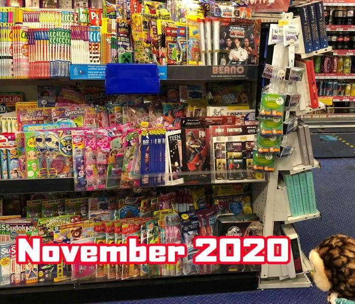 WHSmith Lancaster Children's Section November 2020