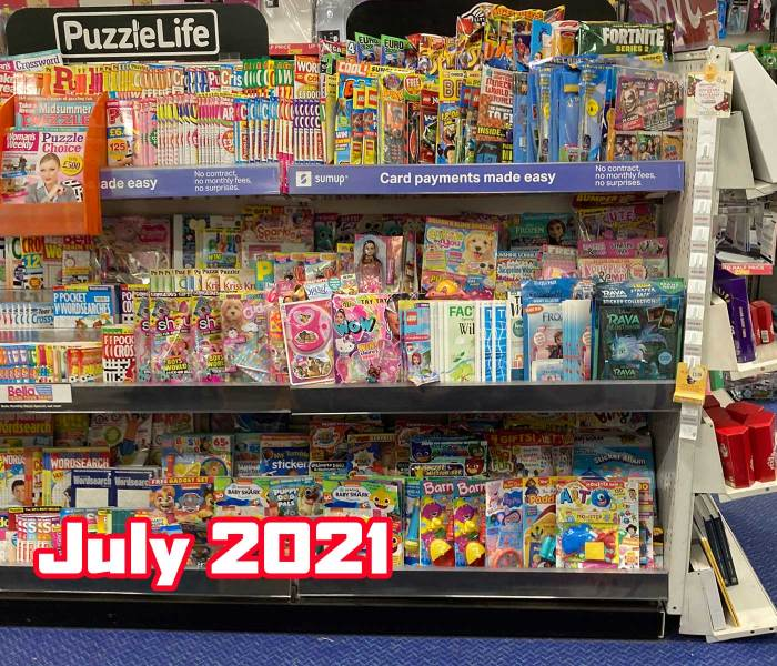 WHSmith Lancaster Children's Section July 2021