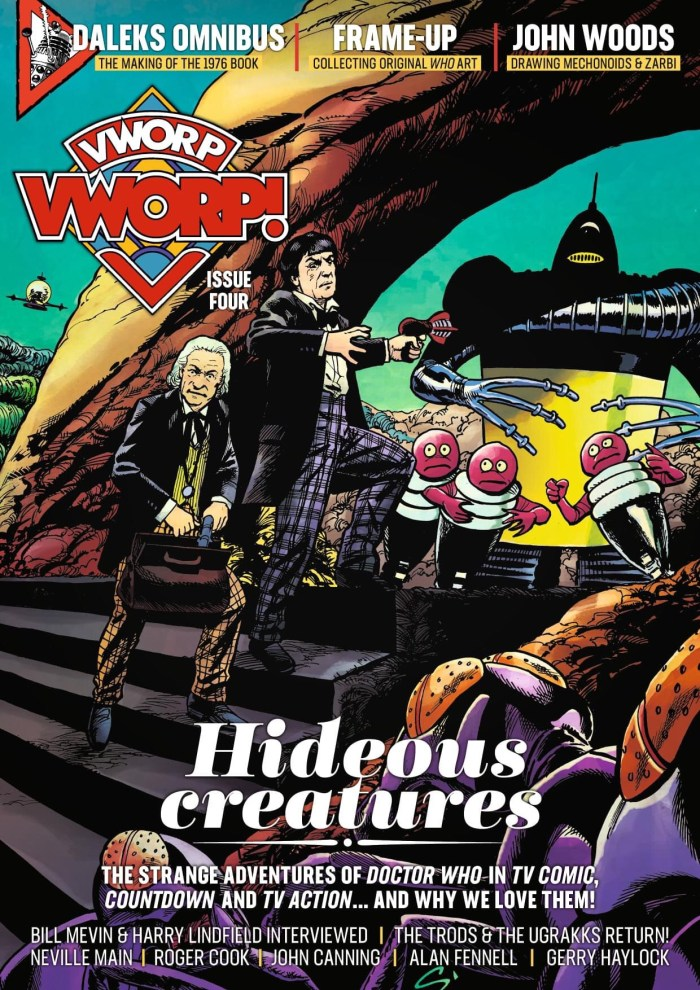 Vworp Vworp! Issue Four, coming in August 2021. Inks by Stephen B Scott, colours by Andrew Orton. Cover 1 of 3