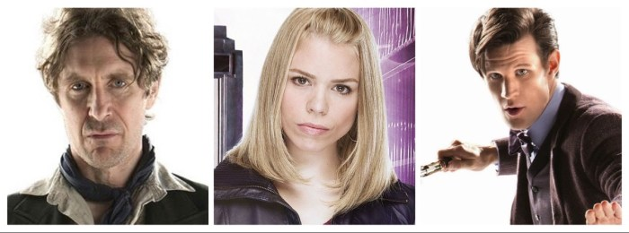 Doctor Who - Doctor 8, Rose Tyler and Doctor 11