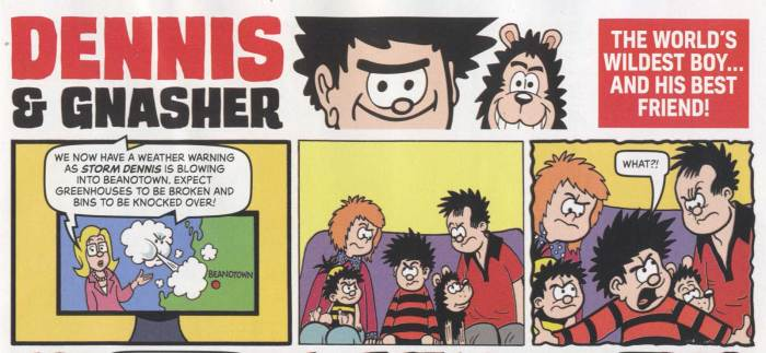 Beano Annual 2022 - Dennis and Gnasher