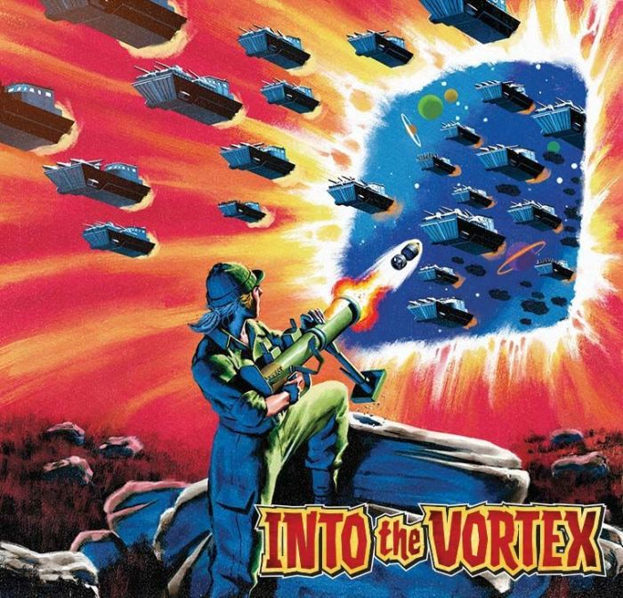 Commando 5461: Action and Adventure - Into the Vortex - cover by Neil Roberts Full