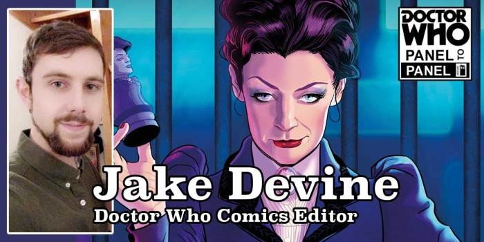 Doctor Who - Panel to Panel Episode 129 - Jake Devine